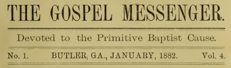 Primitive Baptist Archive