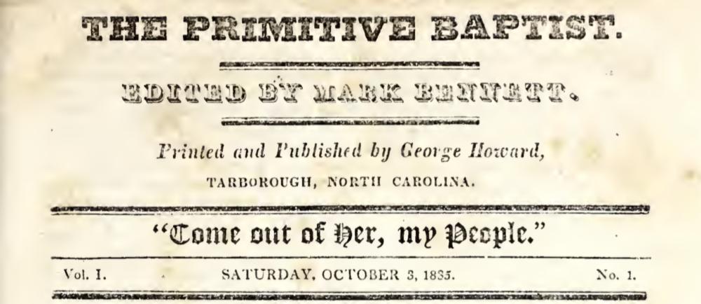 Primitive Baptist Archive