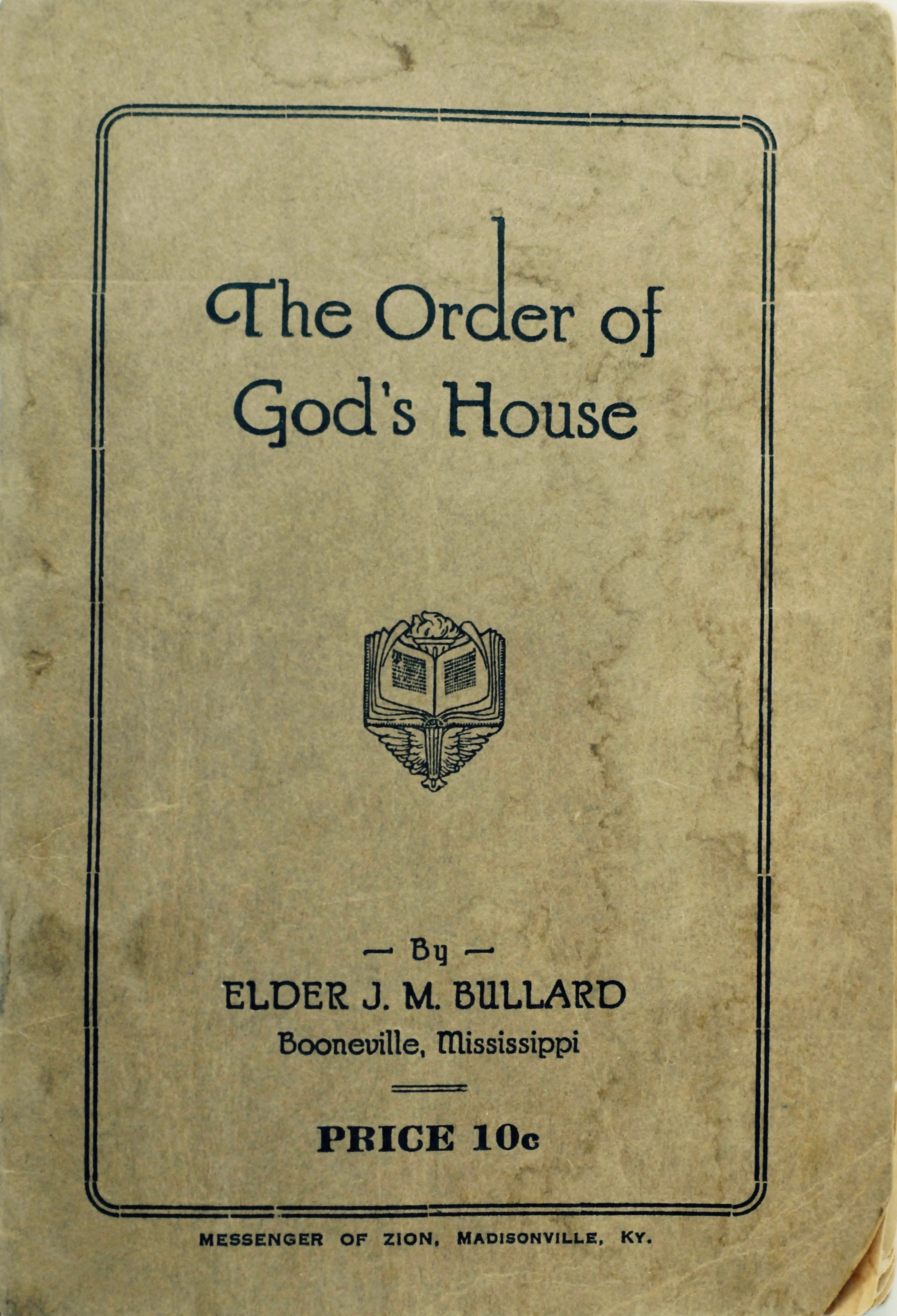 The Order of God's House