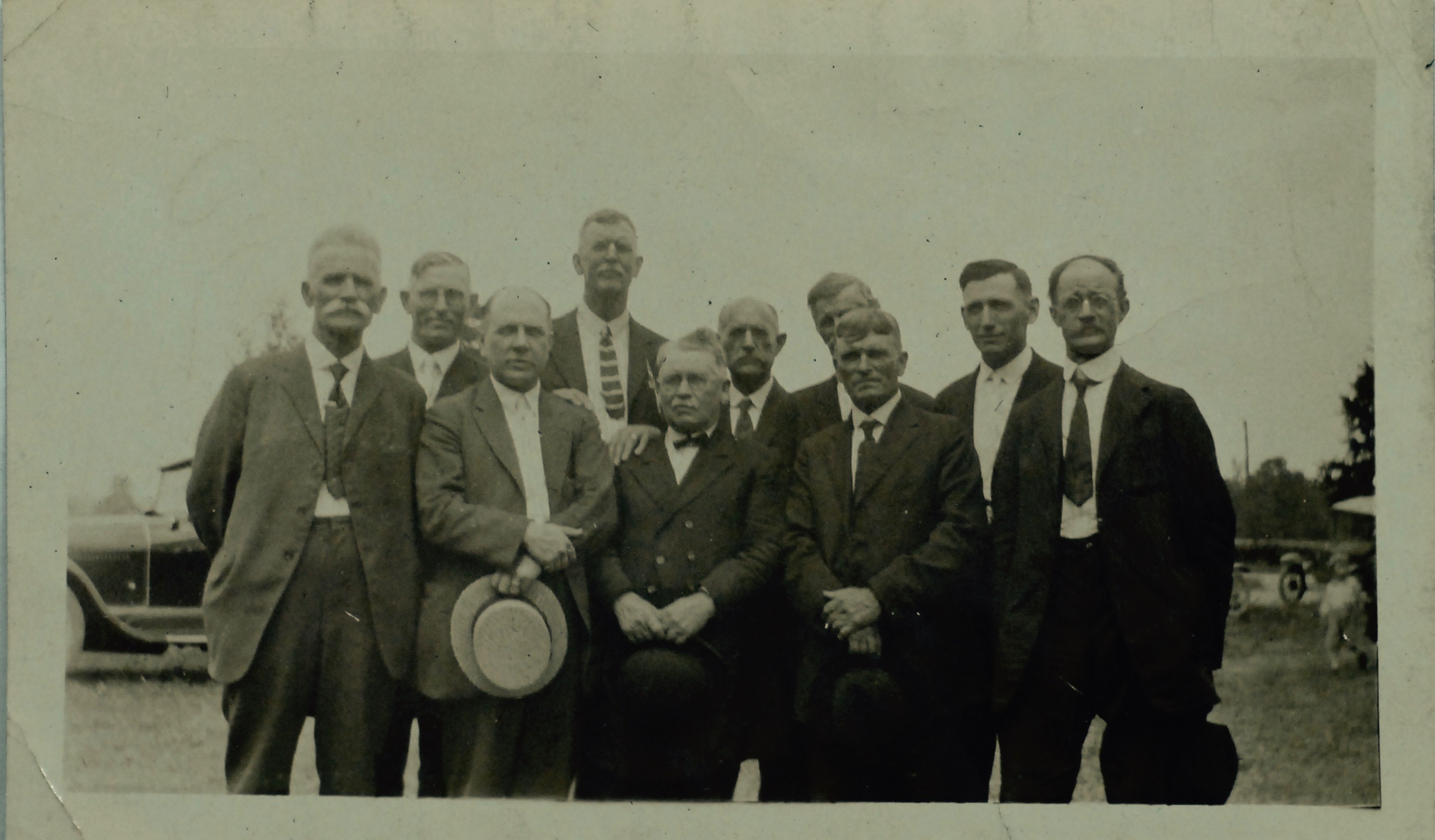 Elders at Unknown Meeting Circa 1910's